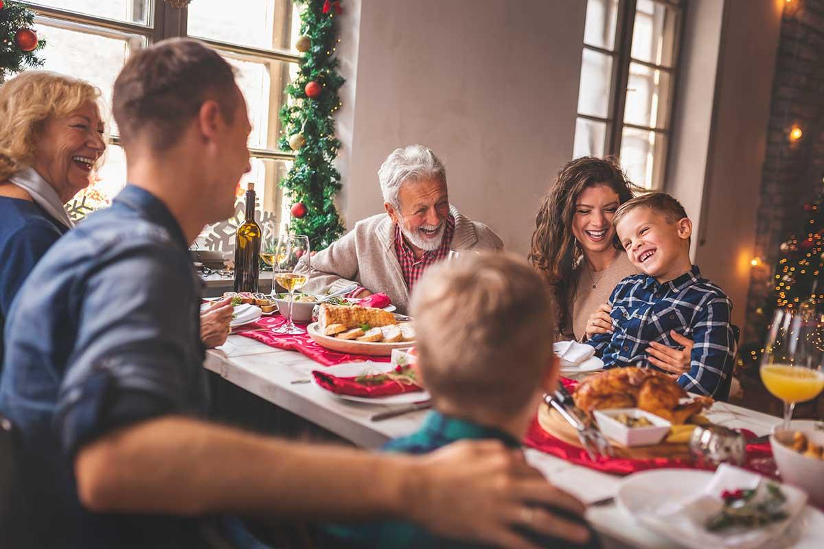 Dinar de Nadal saludable
