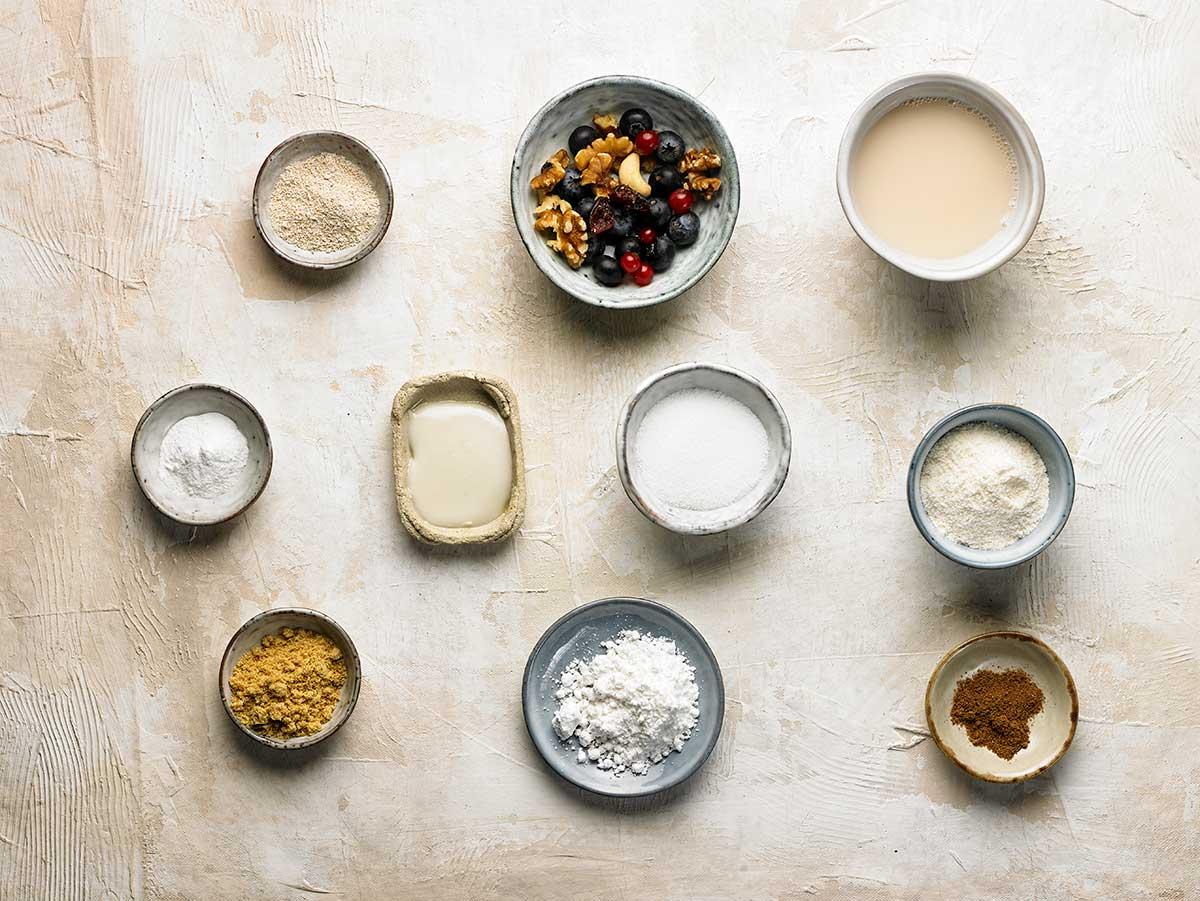 Ingredients Panettone a la tassa sense gluten