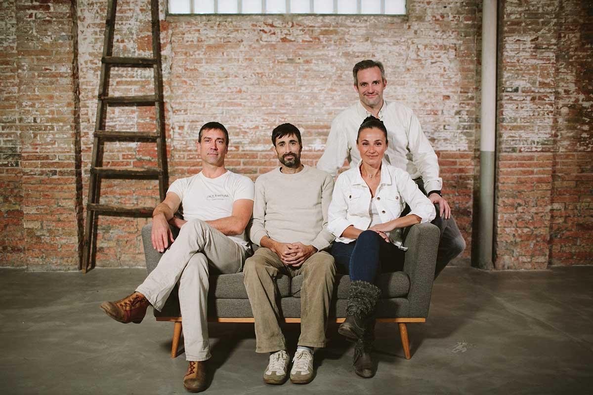 David Olivé, Marc Vergés, Mònica Sánchez i Alberto Lloret