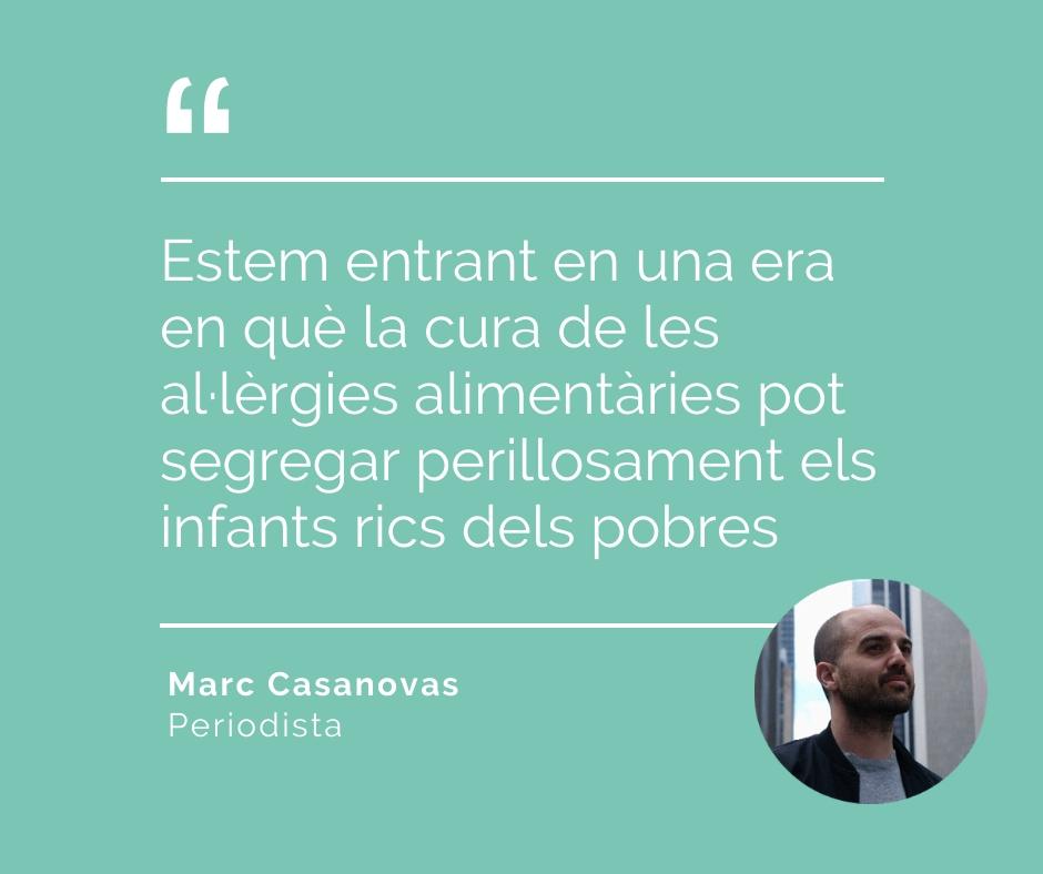 Marc Casanova cacahuet