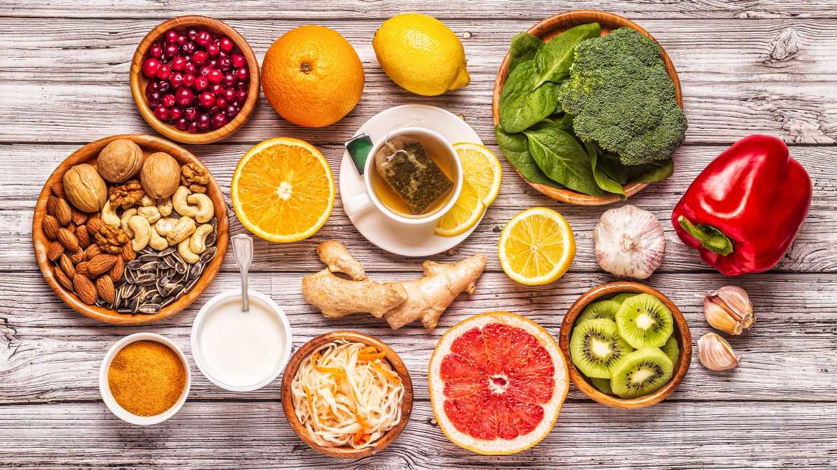 Aliments per augmentar les defenses