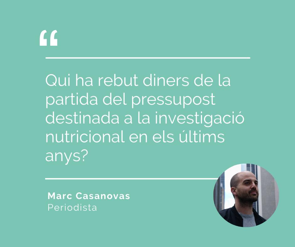 MArc Casanova opina sobre l'obesitat