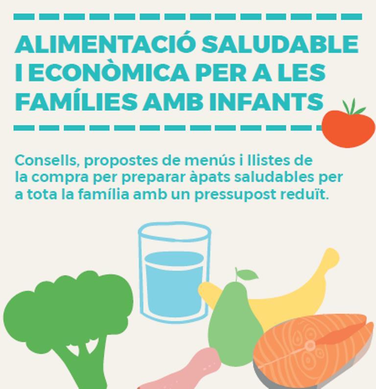 Guia alimentació saludable i econòmica per a families amb infants