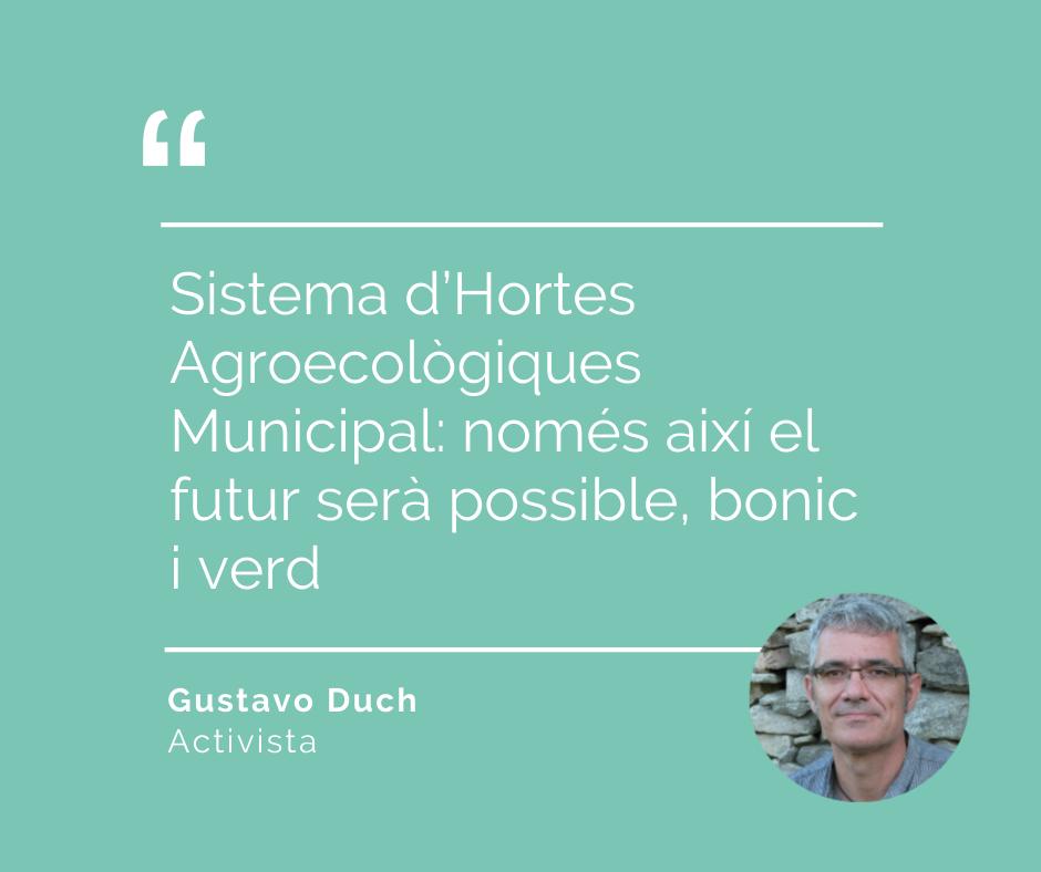 Opinió Gustavo Duch