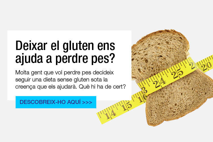 Perdre pes amb una dieta sense gluten
