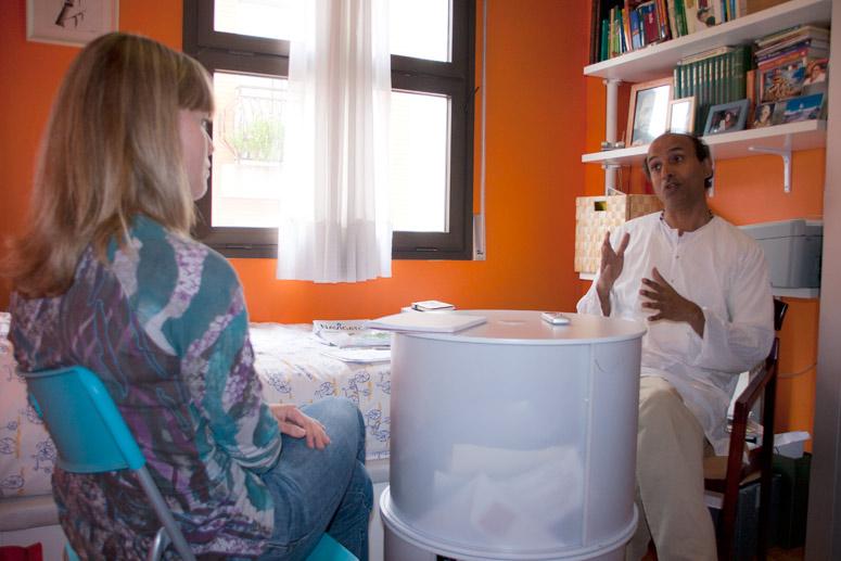 foto Sudhakar Powar, metge ayurvèdic - 7