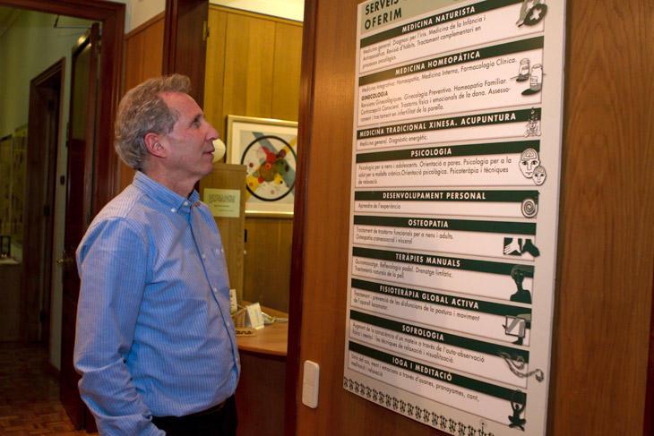 foto Pedro Ródenas, metge naturista i cofundador de la revista 'Integral' - 6