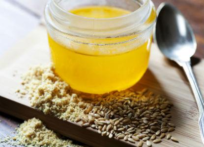 La llavor de lli daurat, els seu oli i la seva farina