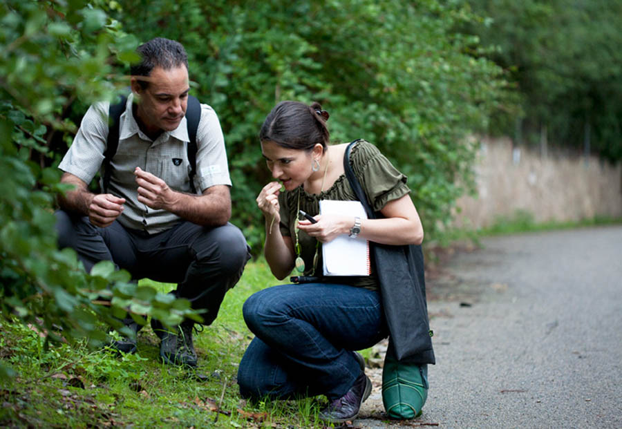 Evarist March, biòleg botànic i guia naturalista