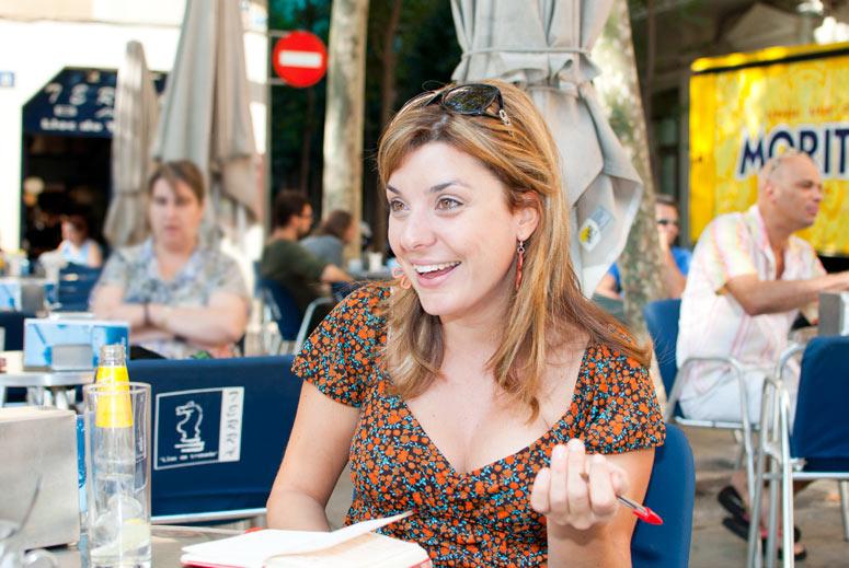 foto Judith Antequera, periodista i presentadora del Canal 3/24 - 3