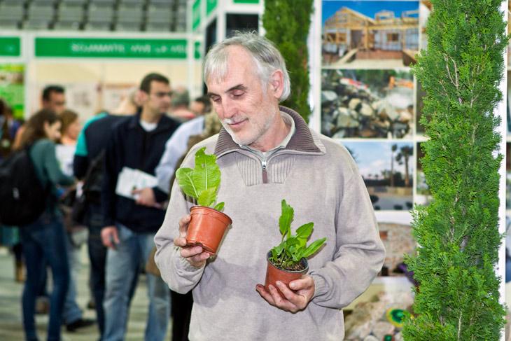 Mariano Bueno, geobiòleg i especialista en horts ecològics