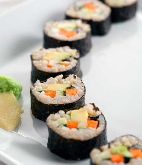 Recepta de sushi vegetal per Bernard Benbassat