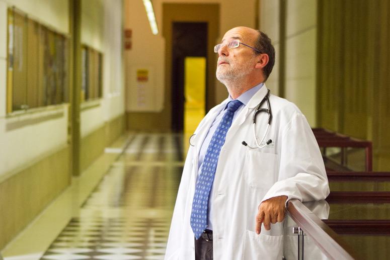 Ramon Estruch, membre del grup de recerca sobre nutrició i malaltia cardiovascular