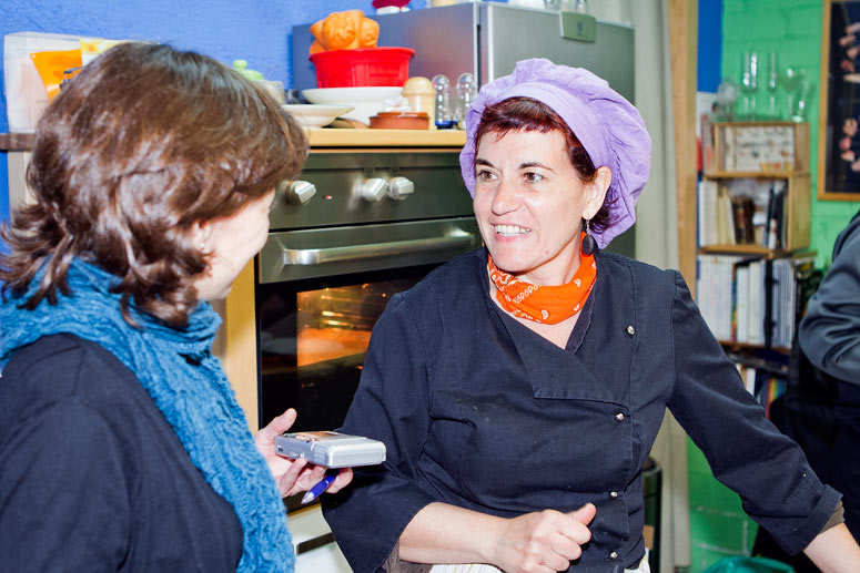 foto Maria Pilar Ibern, gavina, escriptora i professora d'alimentació vegetariana - 2