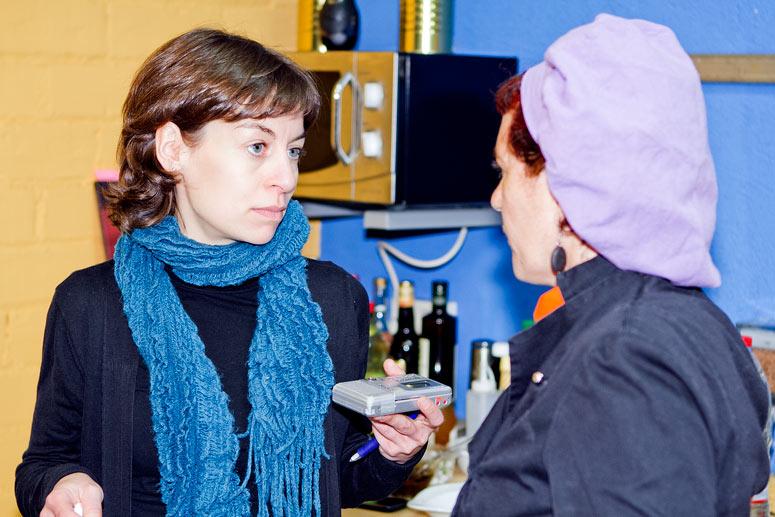 foto Maria Pilar Ibern, gavina, escriptora i professora d'alimentació vegetariana - 3