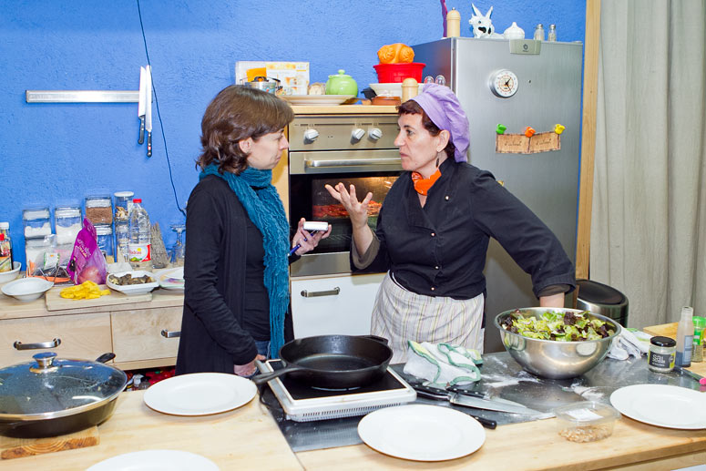 foto Maria Pilar Ibern, gavina, escriptora i professora d'alimentació vegetariana - 4