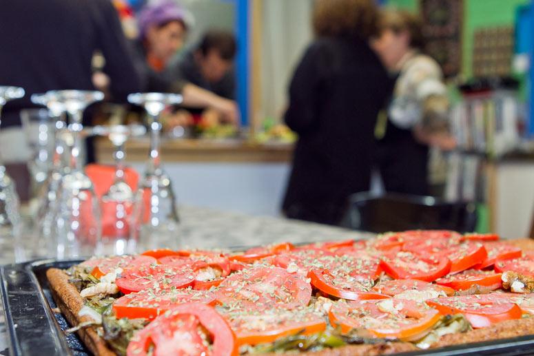 foto Maria Pilar Ibern, gavina, escriptora i professora d'alimentació vegetariana - 5