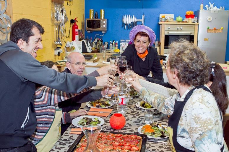 foto Maria Pilar Ibern, gavina, escriptora i professora d'alimentació vegetariana - 8