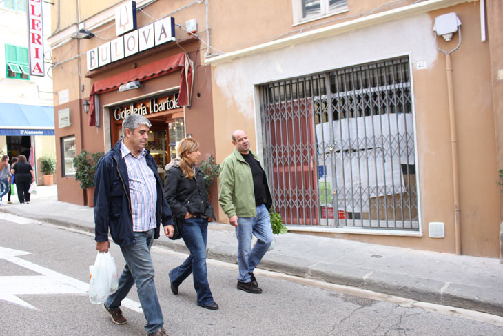 Giuseppe Izza, Núria Coll i Joan-Elies Adell