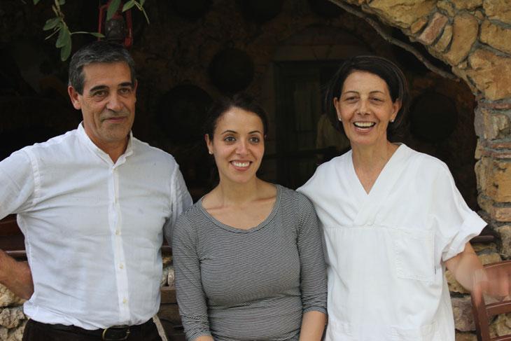 En Marco, la Maria Grazia i la Rita a Sa Mandra