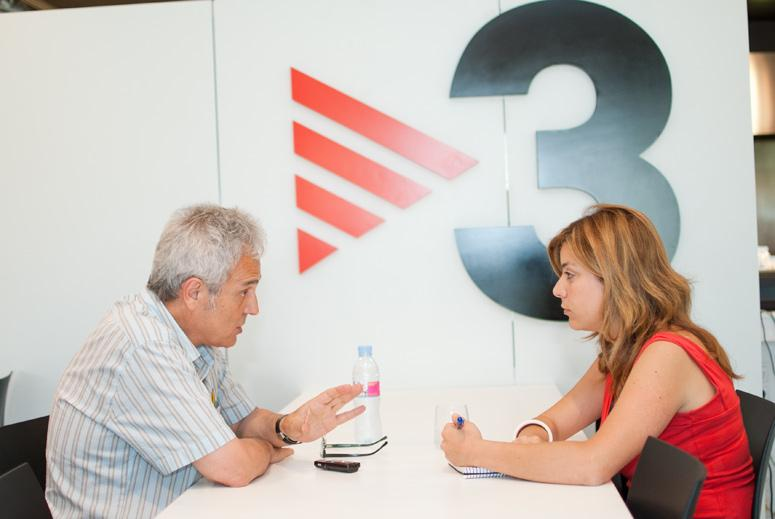 Jaume Barberà, periodista i director de Singulars a TV3