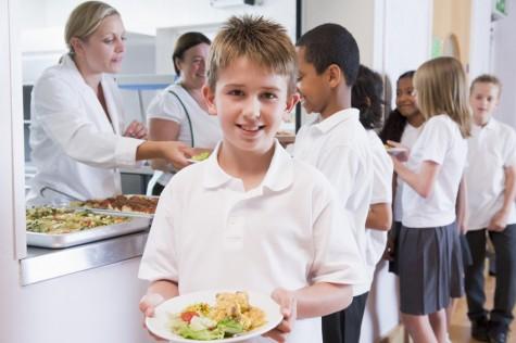 A l'escola mengen la verdura i la fruita