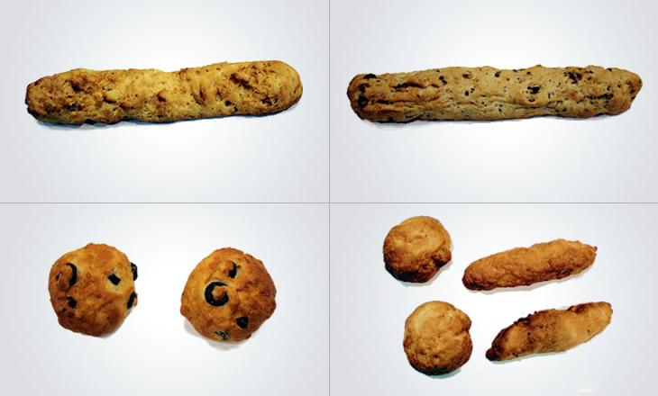 Barres i panets de diversos cereals sense gluten
