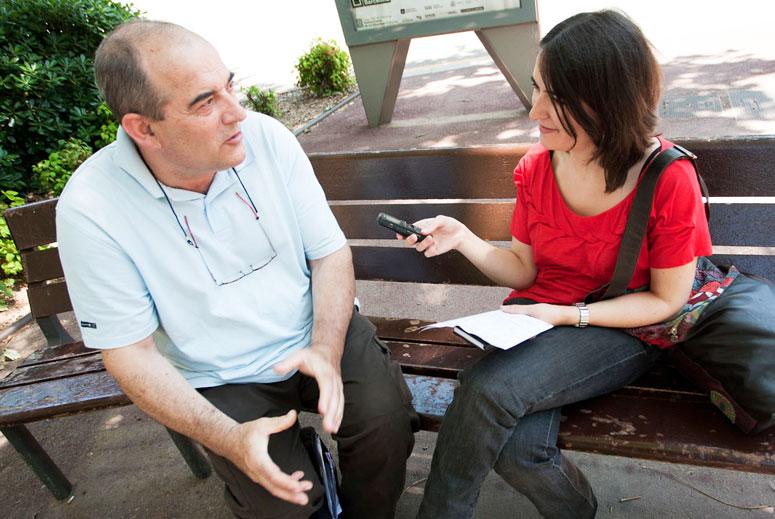 Alberto Mesanza, especialista en tractaments d'aigües i osmosi
