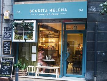 "Bendita Helena, ""Comfort Food"" saludable a les Corts"