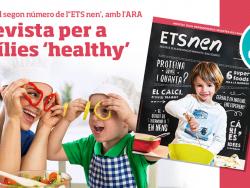 La revista ETS NEN, dissabte i diumenge, amb el diari ARA