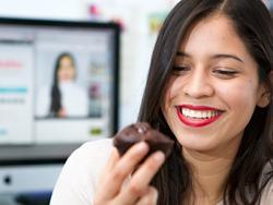 Auxy Ordónez, bloguera especializada en postres saludables