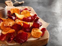 Patates i xips saludables? Sí, deshidratades!