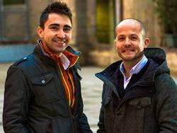 Jesús Sanchis i Xavi Cañellas, investigadors de la microbiota intestinal i les patologies associades