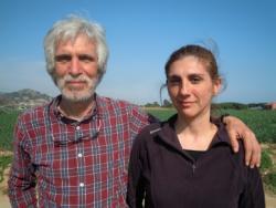 Gaspar i Sabina Caballero, impulsors de les parades en crestall de l'agricultura ecològica
