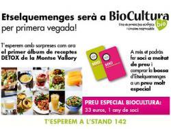 Etselquemenges celebra el tercer aniversari a Biocultura Barcelona