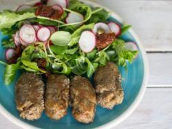 Croquetes de xiitake i ceba (sense gluten i sense lactis)