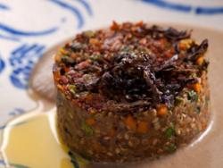 Hamburgueses vegetals-Emulsió de bolets