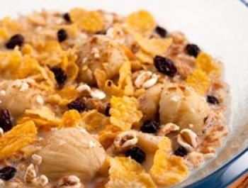 Sopa de cereals i castanyes