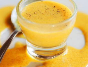 Salsa maionesa de cúrcuma i lli