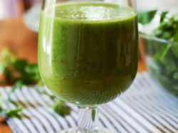 Batut verd amb germinats