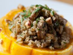Pilaf de quinoa i bolets