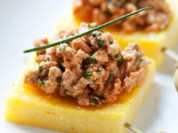 Canapè de foie de mar
