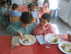 A casa, demanen el mateix que han dinat a l'escola
