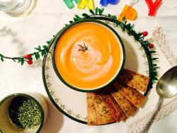 Crema de moniato al romaní