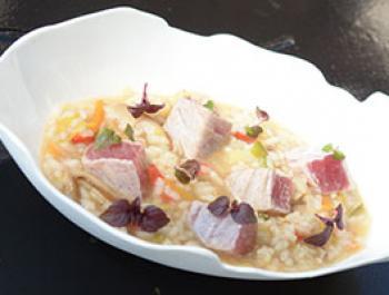 Arròs sucós i ràpid amb sabor del Japó