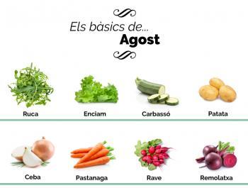 Què hem de menjar a l'agost?