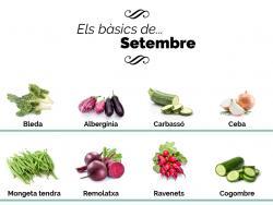 Què hem de menjar aquest setembre?