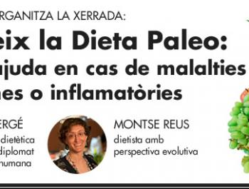 Descobreix la Dieta Paleo. Una gran ajuda en cas de malalties autoimmunes o inflamatòries