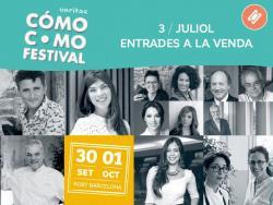 Ja es poden comprar les entrades per les conferències del Cómo Como Festival