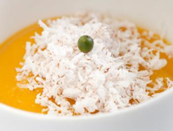 Mango, pebre verd i coco